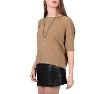 Molly Bracken Knitted Sweater w/ Tassel Necklace